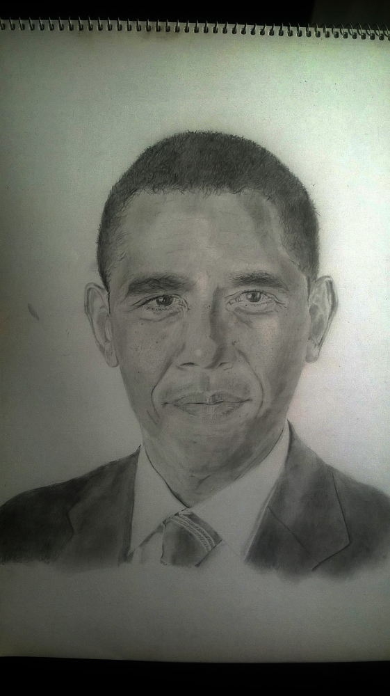 Barack Obama by Kennybx